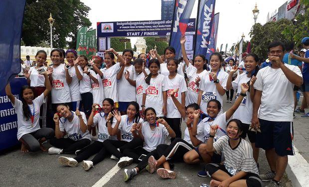 Visuel du projet Run in Cambodia : Les 10km de Phnom Penh pour les élèves de Toutes à l'Ecole
