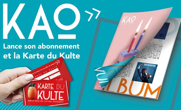 Visueel van project KAO lance son abonnement et la Karte du Kulte !