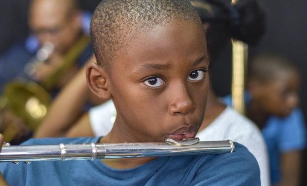 Visuel du projet Contribuez au voyage de l'orchestre Démos Guadeloupe à la Philharmonie de Paris