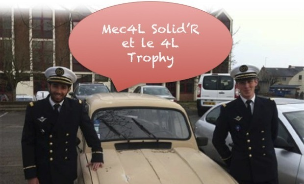 Project visual Mec4Lsolid'R et le 4L Trophy