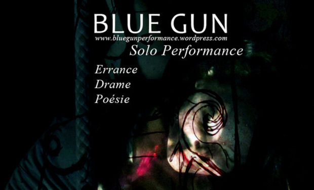 Project visual Blue Gun