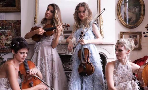 Visueel van project Mademoizel Quartet show 2020