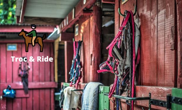 Visuel du projet Troc & Ride ~ Sellerie de la seconde main