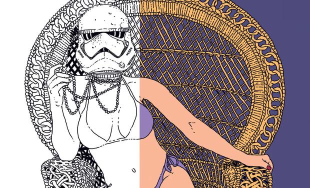Visuel du projet Livre de coloriage pour filles pas sages (Pixel Vengeur)