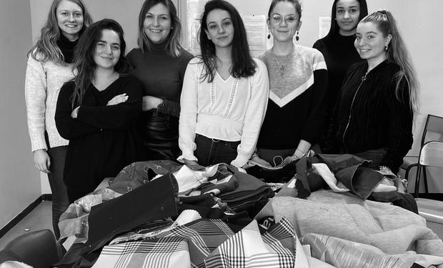 Project visual Mini-entreprise Ecotissam Création et vente de lingettes lavables et recyclables
