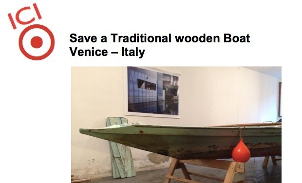 Visuel du projet Save a Traditional wooden Boat of Venice – Italy