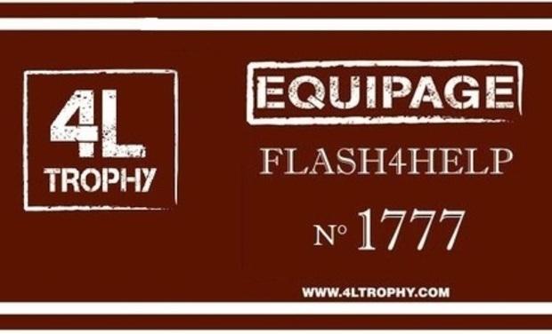 Visuel du projet 4L Trophy Flash4Help