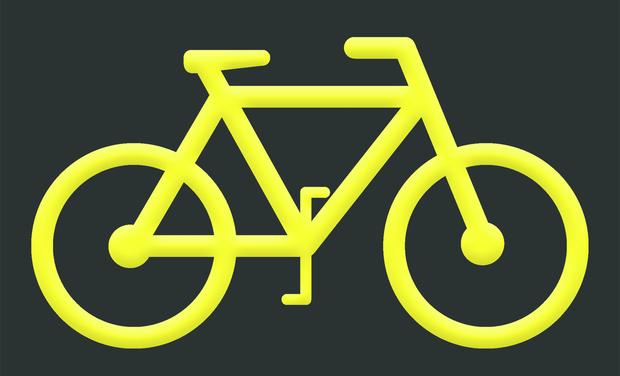 Project visual La vie est tellement plus agréable à vélo !