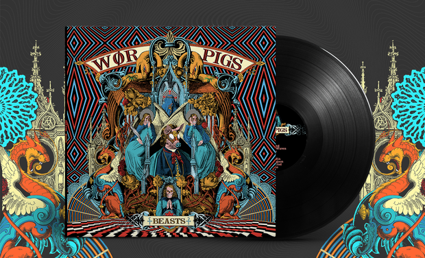 Visuel du projet Wør Pigs - Beasts release