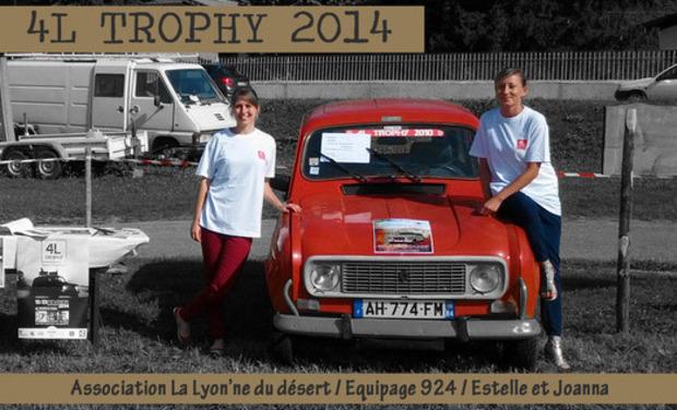 Visueel van project 4L TROPHY / LA LYON'NE DU DESERT