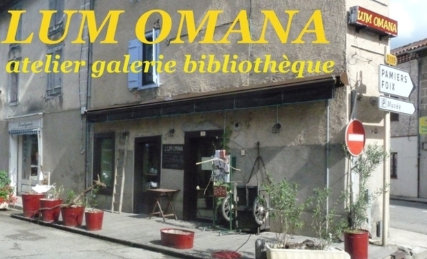 Project visual Lumomana - atelier galerie bibliothèque