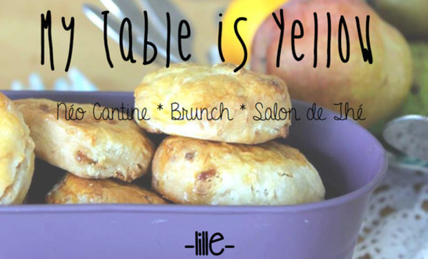 Project visual My Table is Yellow