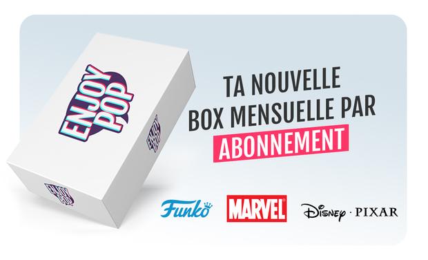 Visuel du projet Box mensuelle Funko POP!™