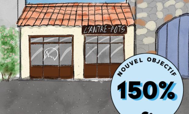 Visuel du projet L'ANTRE-POTS, l'épicerie vrac, bio et locale