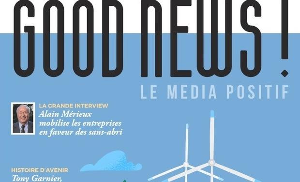 Visuel du projet Good News, le média positif