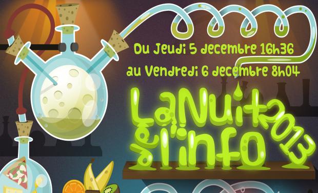Project visual Nuit de l'info Aix-en-Provence 2013