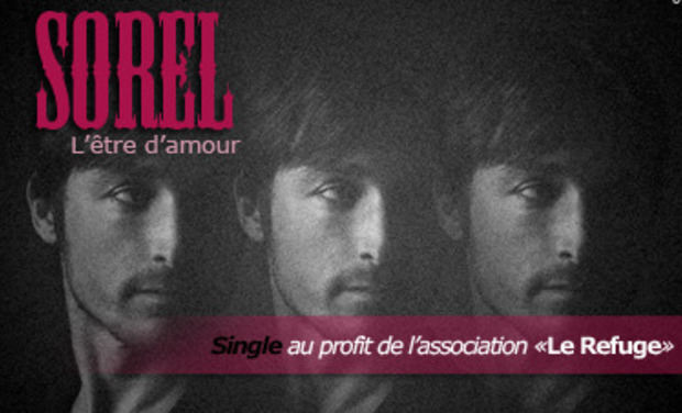 Visuel du projet CD single Sorel - au profit de l'association Le Refuge