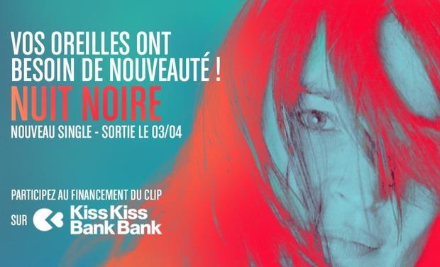 Visueel van project EVIE - Nouvel EP, Participez au financement du clip NUIT NOIRE