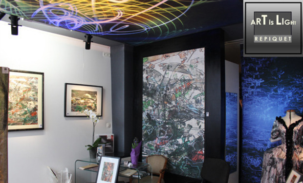 Visueel van project ART IS LIGHT, une fenêtre sur l'art