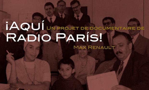 Visuel du projet ¡Aquí Radio París! Ici Radio Paris!