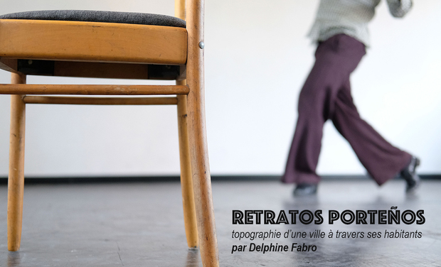 Project visual Exposition photographique et sonore — Retratos Porteños