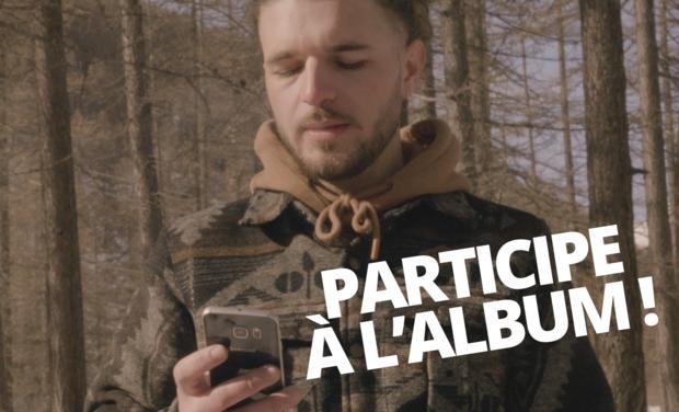 "Omslagfoto van project LARIO - PREMIER ALBUM ""ATOM"""