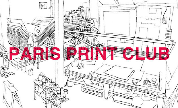 Project visual Paris Print Club