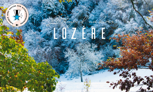 """Project visual Livre d'art """"Lozère - Le temps d'un Hiver"""""""