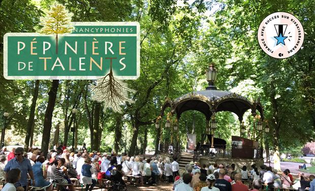 Visuel du projet Pépinière de talents du festival Nancyphonies