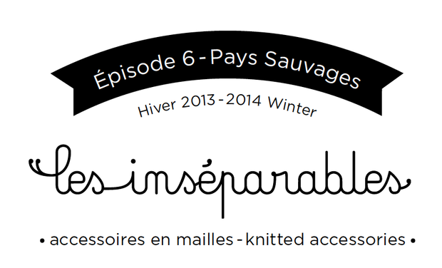 Project visual Les Inséparables * Accessoires en maille 100% made in Belgium with love*