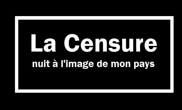 Visueel van project Qu'est-ce que la censure?