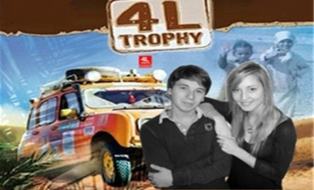Project visual La Rochbouchka - 4 L Trophy 2012