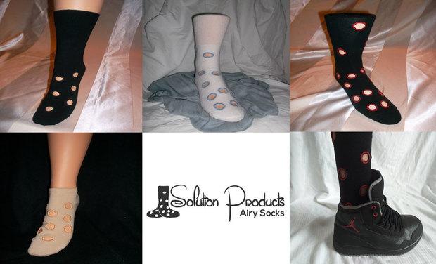 Visuel du projet Airy Socks