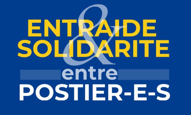 Visueel van project Entraide & solidarité entre postier-e-s