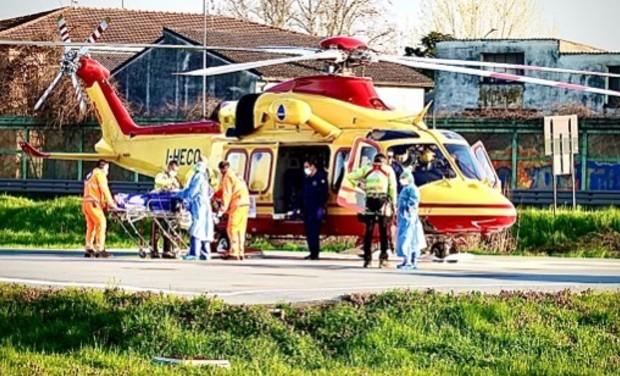 Visuel du projet De l'aide pour les hôpitaux de Lodi (Italie)