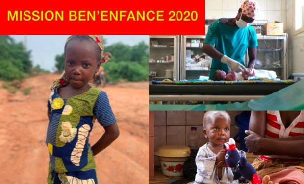 Omslagfoto van project Mission Ben'Enfance 2020