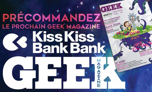 Visuel du projet GEEK magazine