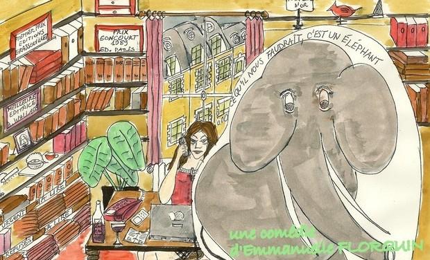 Visuel du projet Ce Qu'il Nous Faudrait C'est un Eléphant