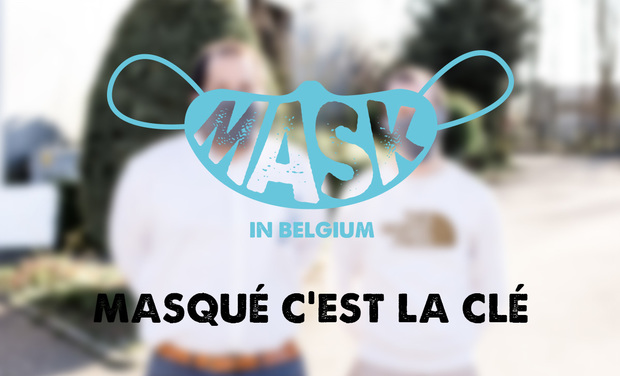 Visueel van project Mask in Belgium - Aidons nos soignants - COVID-19