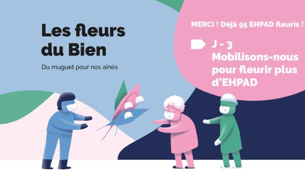 Project visual Les Fleurs du Bien - Du Muguet pour nos aînés