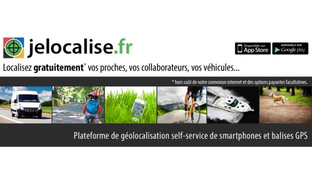 Visuel du projet Jelocalise - Géolocalisation GPS de smartphones et balises GPS