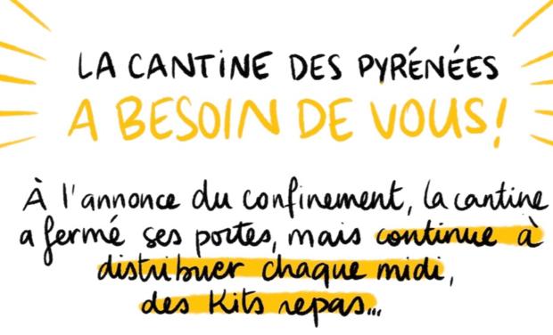 Project visual Soutenez la CANTINE DES PYRENEES