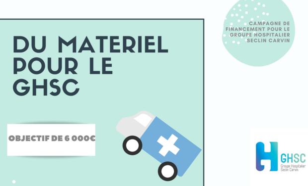 Project visual Covid-19 / FONDS DE SOLIDARITÉ / Groupe Hospitalier Seclin Carvin (GHSC)