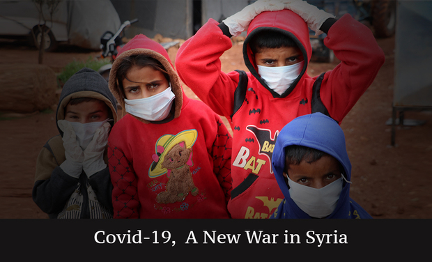Visueel van project COVID-19, A New War in Syria