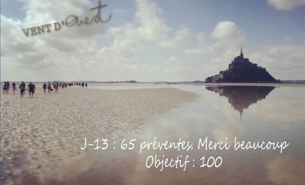 Visueel van project Traversée solidaire de la Baie du Mont Saint Michel