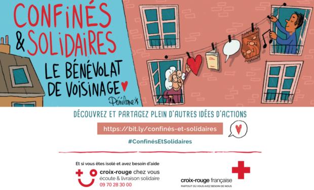 Visuel du projet Urgence Covid 19 : La Croix Rouge a besoin de vous pour aider les plus fragiles