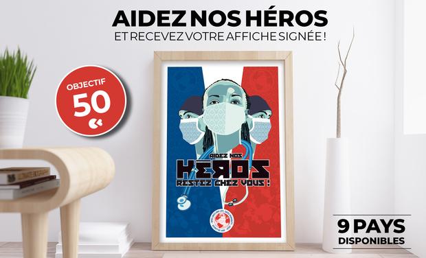 Visuel du projet HEROES - Aidez nos héros
