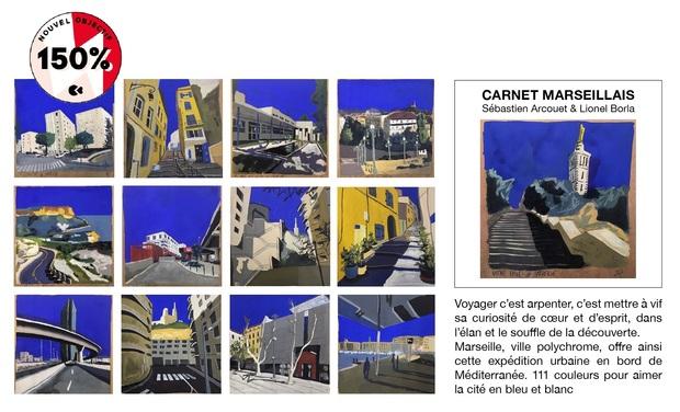 Project visual CARNET MARSEILLAIS, voyage au coeur de la cité