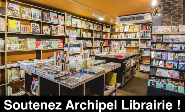 Project visual Archipel Librairie