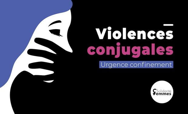Project visual Urgence confinement : soutenons les victimes de violences conjugales